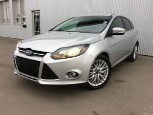 2013 Ford Focus Titanium, LEATHER , HEATED SEATS, BACKUP CAM.