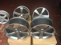 ALLOY WHEELS 19s AUDI SET OFF 4