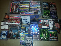 Joblot bundle of 92 Dvd's includes blu rays - boxsets - hd dvd - going cheap to clear - a bargain