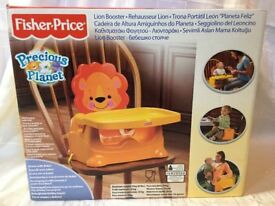 Fisher Price precious planet Lion booster seat