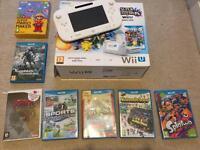 Wii u plus 7 games
