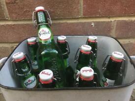Grolsch Pressure lid bottles