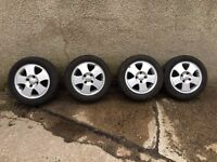 Ford Alloy Wheel Set