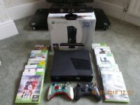XBOX 360 KINECT. 250 GB WITH 100 GAMES.