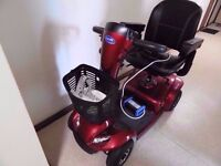 save £1050 pounds of your money on this as brand new mobility scooter not even done one mile