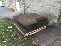 Turf for sale in Harewood. Ordered too much, only reason for selling