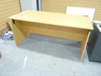 Office Bedroom Meeting Room Large Desk Table Light Wood Colour