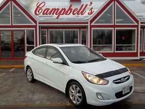 2012 Hyundai Accent GLS!! SUNROOF!! HEATED SEATS!! 16 ALLOYS!! V