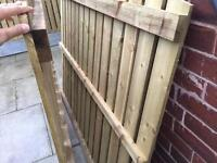 Fence / treated wood / price for 2