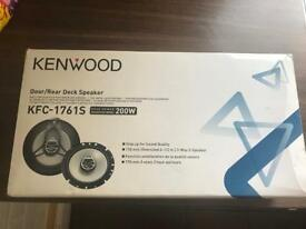 Brand new kenwood 6.5 inch speakers