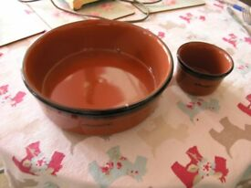 Two Nandos Pottery Items Weymouth Free Local Delivery