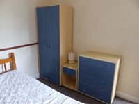 Room available for Loughborough University student in comfortable shared house . Free broadband.