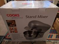 Cooks Professional Stand Mixer (Silver)