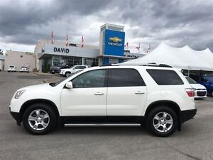 2012 GMC Acadia SLE2 AWD 5DR, HEATED SEATS, SIDE STEPS, LOCAL TR