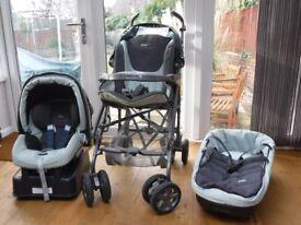Mammas + Pappas Pliko Travel System (used)