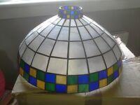 Tiffany-style lightshade