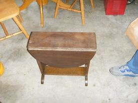 small fold table