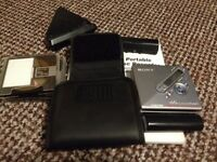 Portable Sony MiniDisc Player & Recorder Set