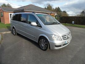 Mercedes Benz Viano 3.0 CDi V6 Diesel Extra Long 8 Seater Automatic 2013/13reg, 1 owner history