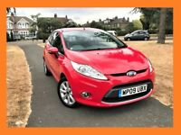 Ford Fiesta 1.25 Zetec 3dr LONG MOT, CLEAN IN AND OUT