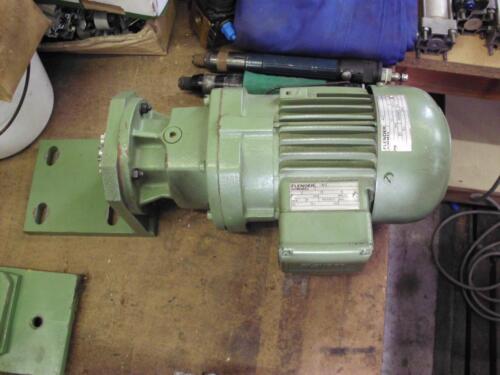 Flender himmel getriebemotor motor 0 37 kw zf 10 m 1 c 4 for Flender himmel motors usa