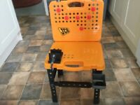 JCB child's tool bench