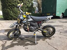 BAM 125cc Pro Pit Bike