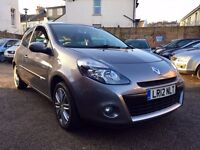 Renault Clio 1.5 dCi Dynamique 3dr (Tom Tom)£3,295 one owner
