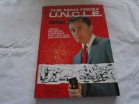 The Man from U.N.C.L.E. 1966 annual in very good condition. Authorised edition.