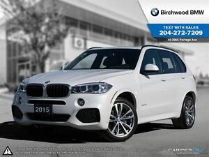 2015 BMW X5 xDrive35d M Sport! Premium Package! Local Car! 1 O