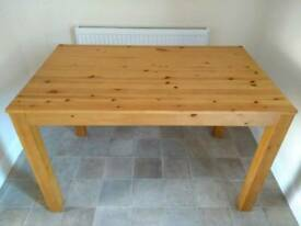 Wooden table in good condition (no chairs)
