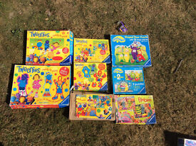 8 x Teletubbies/Frimbles/Tweenies Childrens Puzzles