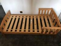 Mothercare Solid Pine Toddler Bed