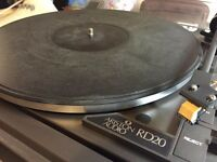 Ariston RD20 Turntable with 6 records