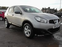 NISSAN QASHQAI VISA 1.6 5DR SILVER 1YRS MOT CLICK ON VIDEO LINK TO SEE MORE INFORMATION