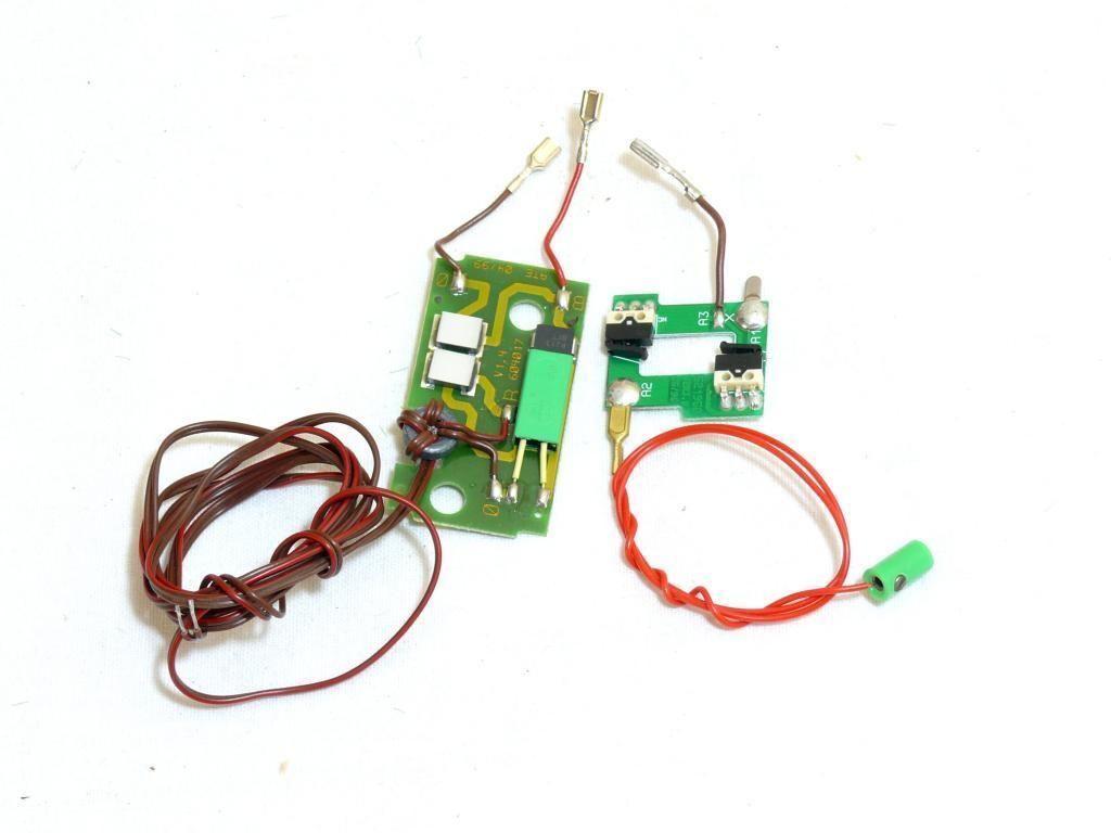 Neue Ausführung Ersatzteil Piko H0 Hauptplatine NEM-Buchse 8-polig grün NEM 652