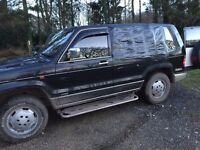 Isuzu Bighorn 3.1 Diesel £400 - breaking or project.