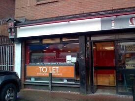 Proven Shop Unit at Blackstaff Stop at Blackstaff Mill, Springfield Road, Belfast. Mile to City Hall