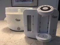 Tommee Tippee Perfect Prep & Steam Steriliser