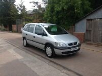 30 day Gurantee - Vauxhall Zafira Life A/C - excellent example - New MOT - Service history