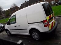 vw caddy 62 plate 1.6 very economical van
