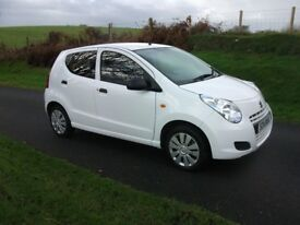 2014 SUZUKI ALTO 1.0 SZ 5DOOR ONLY 25,000 MILES WHITE