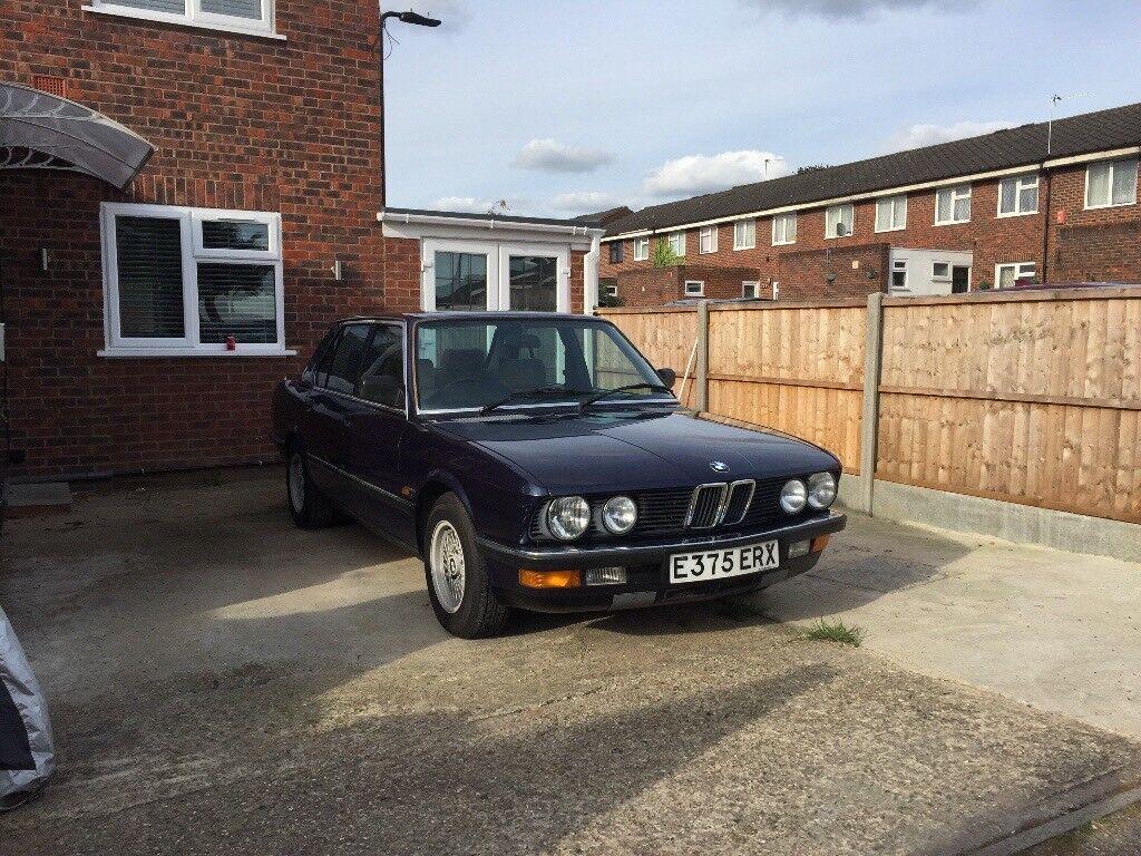 1987 E28 BMW 518i