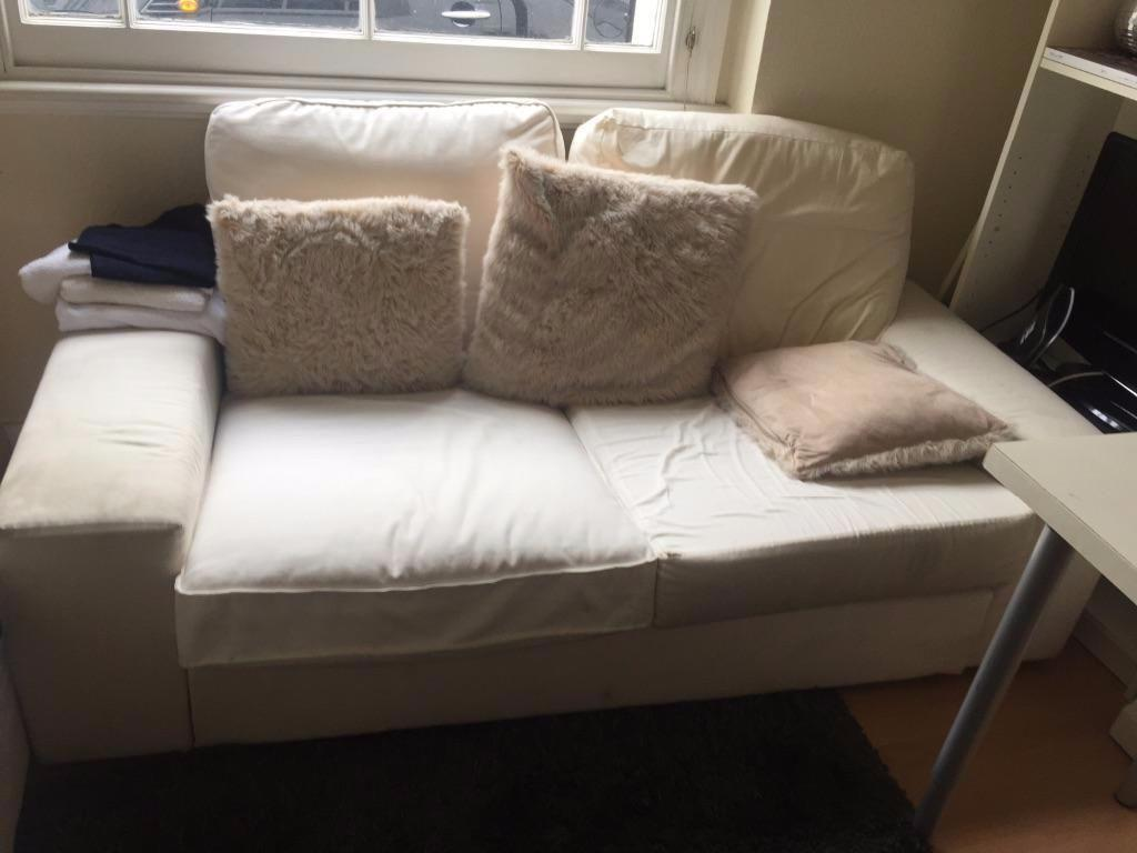House Clearance Small White Sofa For Sale Pickup Only In Chelsea London Gumtree