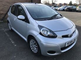 Amazing Condition LOW MILEAGE Aygo Platinum 5 Dr Aircon £20 TAX Low Insurance 65+ MPG HPI Clear