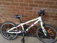Frog 52 (girls spotty design) bike for sale - collect Newcastle upon Tyne