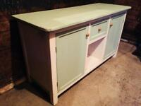 Cornish Farmhouse Pine Dresser Kitchen Serving Table Island