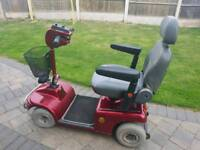 Shoprider mobility scooter 4 m.p.h.