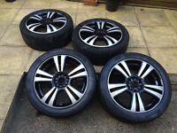 multifit 17 inch alloy wheels