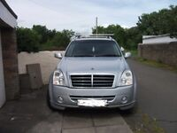 ssangyong rexton 2 rx270 xdi.auto 2008 81,000 mot till june2018 new facelift model sat nav etc
